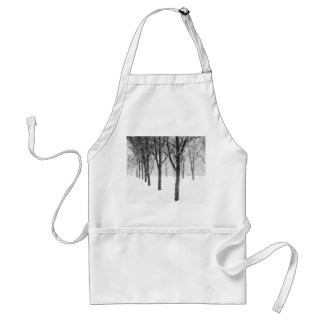 as I side with trees Standard Apron