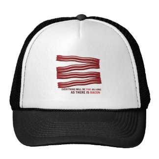 As Long As There Is Bacon Hats