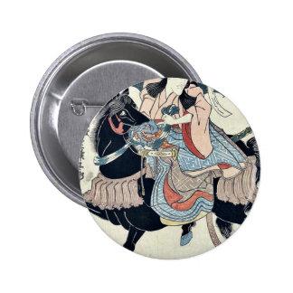 As Satsumanokami Tadanori by Utagawa,Kuniyasu Buttons