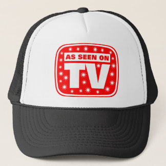 As Seen on TV - CH 2 With Snow Stars Trucker Hat