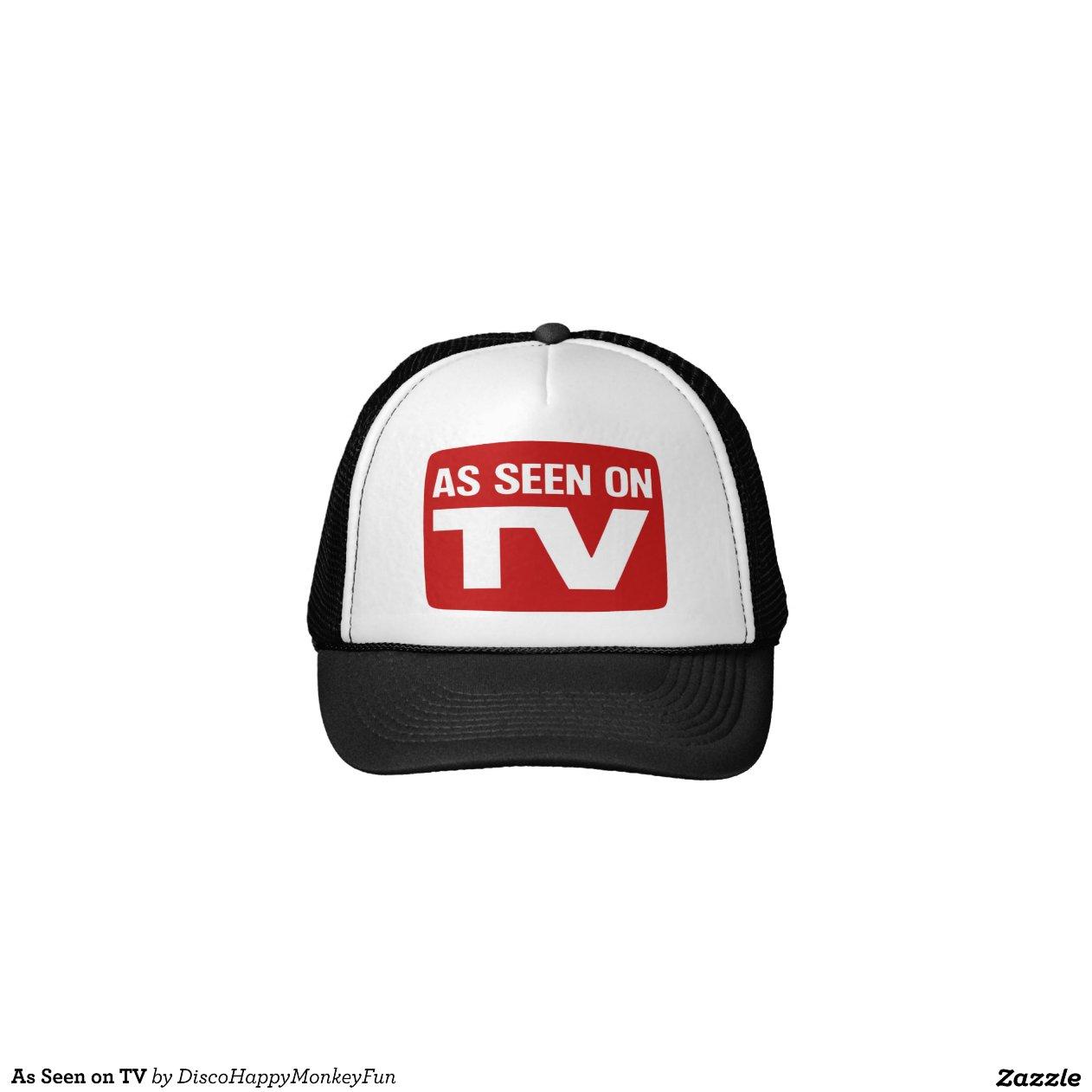 as seen on tv trucker hat zazzle