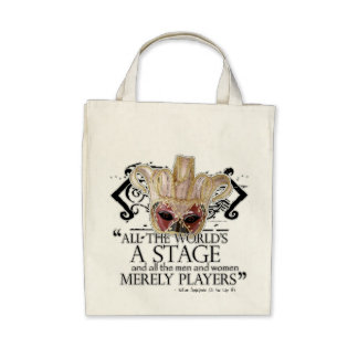 As You Like It Quote Bags