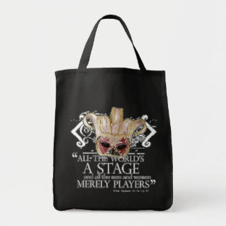 As You Like It Quote Canvas Bags