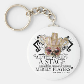 As You Like It Quote Key Chain