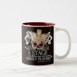 As You Like It Quote Two-Tone Coffee Mug