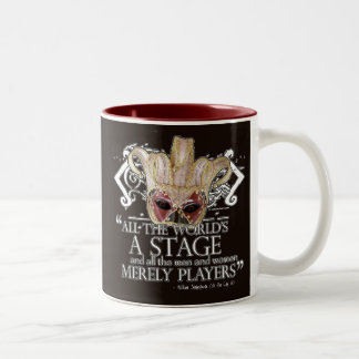 As You Like It Quote Two-Tone Mug