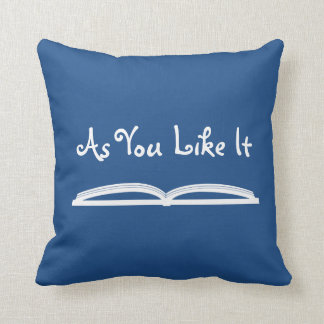 As You Like It Shakespeare Quote Cushions
