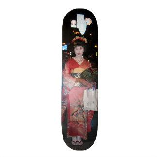 Asakusa Geisha Neo Tokyo Skateboard