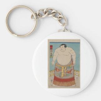 Asashio Taro - 1868 Basic Round Button Key Ring