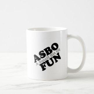 ASBO Fun Basic White Mug