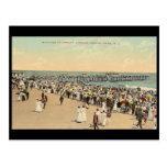 Asbury Avenue, Asbury Park, New Jersey Postcard