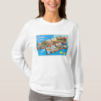 Asbury Park New Jersey NJ Vintage Travel Postcard- T-Shirt