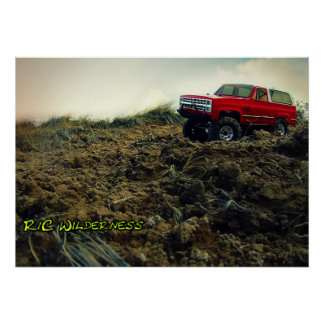 Ascender in a Ditch Poster