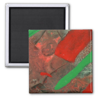 """""""Ascenders"""" Abstract Art Magnet"""