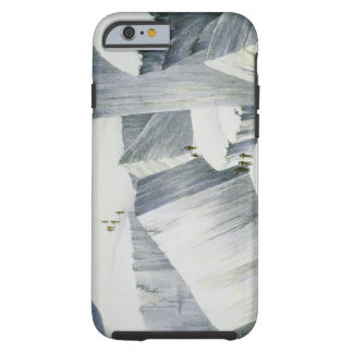 Ascending a Cliff, from 'A Narrative of an Ascent Tough iPhone 6 Case