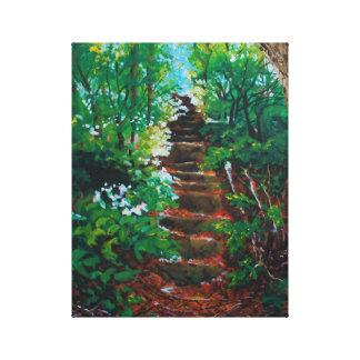 Ascending Autumn Canvas Print