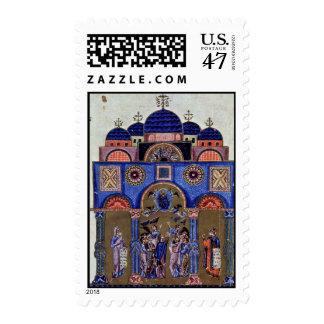 Ascension (Bilbiothèque Nationale De France Ms Gre Stamp
