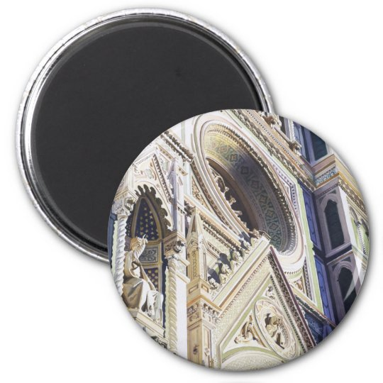 """Ascension"" Church Architecture Watercolor Magnet"