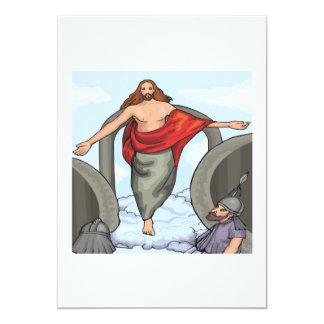 Ascension Day 13 Cm X 18 Cm Invitation Card