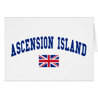 ASCENSION ISLAND CARD