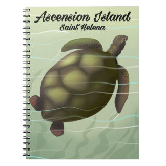 Ascension Island Sea Turtle Notebook