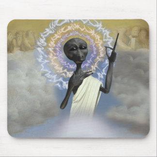 Ascension of Alien Jesus Mousepad