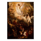Ascension of Christ with Angels Card