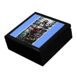 Ascension of Jesus stained glass window Gift Box