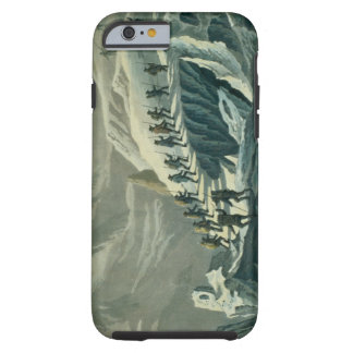 Ascent of Mr. De Saussure to the Summmit of Mont B Tough iPhone 6 Case