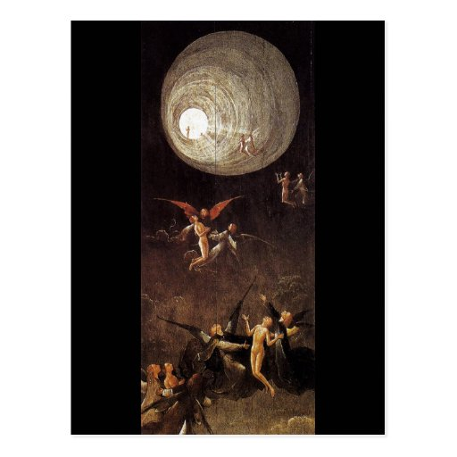 Ascent of the Blessed, by Hieronymus Bosch Post Cards
