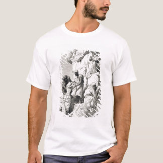 Ascent of the Great Pyramid, 19th century T-Shirt