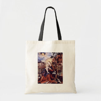 Aschaffenburg Altar Middle Panel: Mary With Child Budget Tote Bag