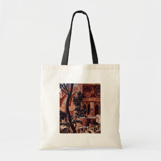 Aschaffenburg Altar Middle Panel: The Virgin And C Budget Tote Bag