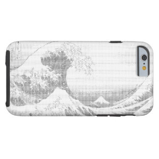 ASCII ART Wave iPhone Case