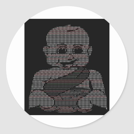 ASCII Baby Stickers