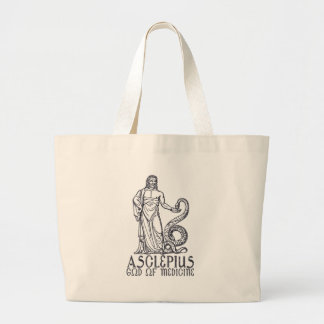 Asclepius Large Tote Bag