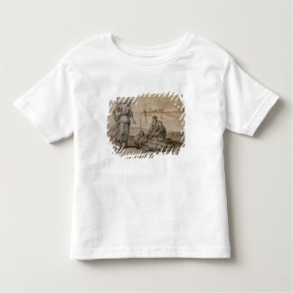 Asclepius Reviving Hippolytus (pen & ink, wash and Toddler T-Shirt