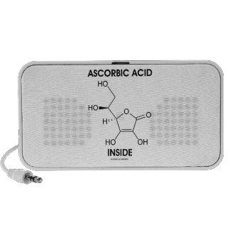 Ascorbic Acid Inside (Vitamin C Chemical Molecule) Portable Speaker