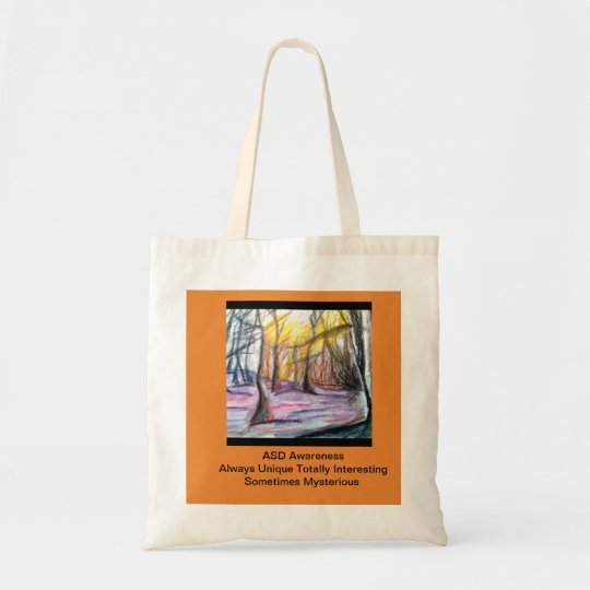 ASD Awareness Tote Bag