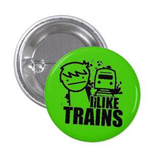 ASDF I Like Trains Pin