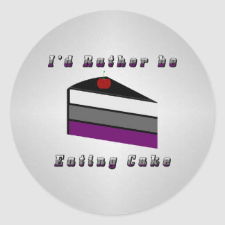 Asexual Cake Sticker