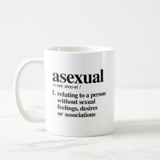 Asexual Definition - Defined LGBTQ Terms - Coffee Mug