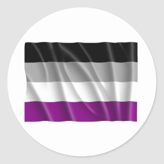 ASEXUAL FLAG FLYING STICKERS