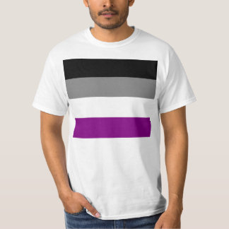 Asexual flag shirt