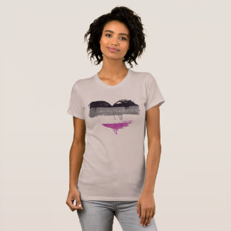 ASEXUAL HEART - ASEXUAL LOVE - T-Shirt