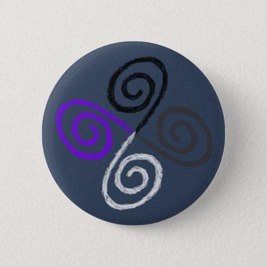 Asexual Pride 6 Cm Round Badge