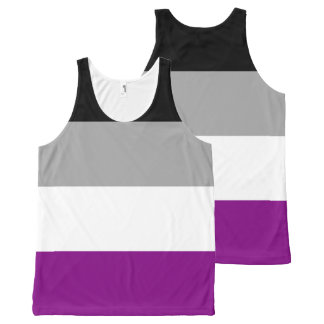 Asexual Pride All-Over Print Tank Top