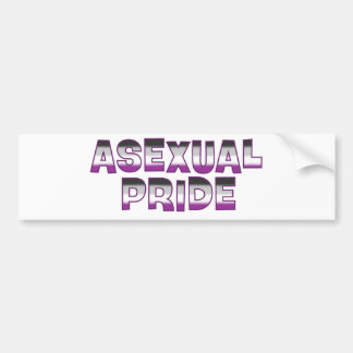 Asexual Pride Bumper Sticker