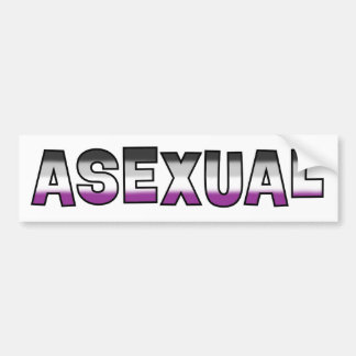 Asexual Pride Bumper Sticker
