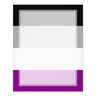 Asexual Pride Flag 11.5 Cm X 14 Cm Flyer